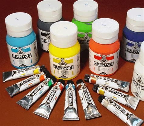 acrylic paint stain acrylic paints