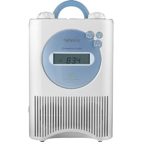 Bathroom Radio Mp3 Player Sony Icf Cd73w Weather Band Shower Radio Cd Player