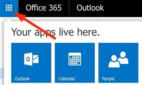 office 365 new app launcher feature arrives for webmail