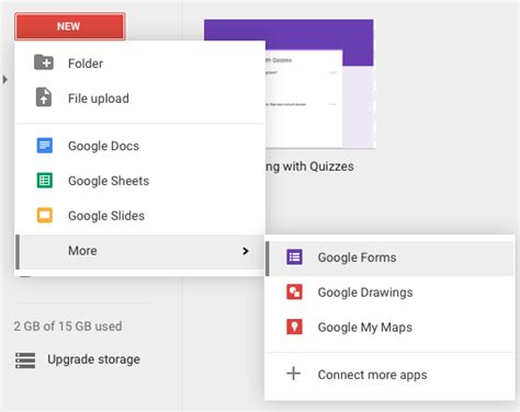 google forms tutorial 2016 google quizzes surfing to success