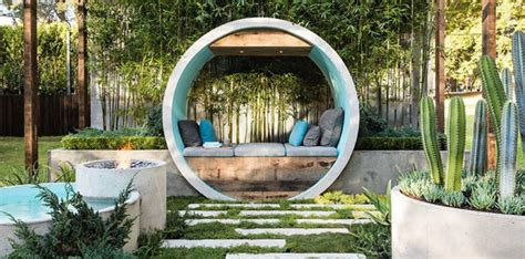 home and garden dream home pipe dream garden expressive use of concrete material