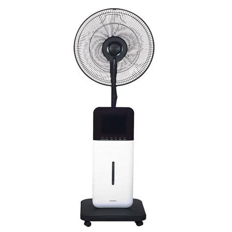 home depot oscillating fan 18 in oscillating ultrasonic dry misting fan with