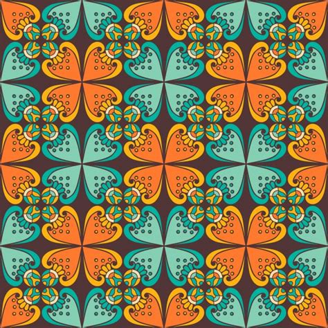 ethnic pattern vector free download background with colorful ethnic pattern vector free download