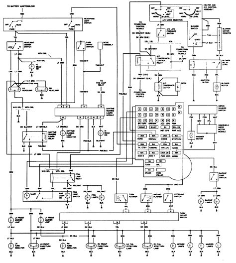 chevy s10 light wiring colors wiring diagram schemes