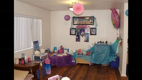 fancy home party decoration ideas h98 for your home designing ideas frozen birthday party themed decorating ideas youtube