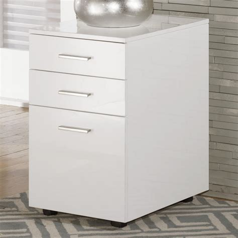 ashley furniture file cabinet ashley signature design baraga h410 12 full gloss white