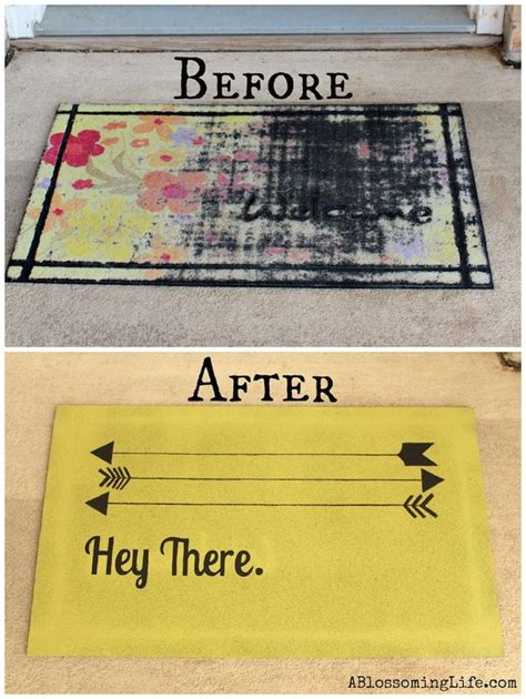 smart school house decor hacks diy custom door mat by a blossoming life on smart school house decor
