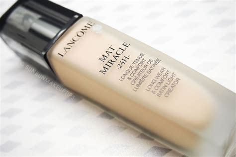 Foundation Lancome Mat Miracle lancome mat miracle 24h foundation review cover