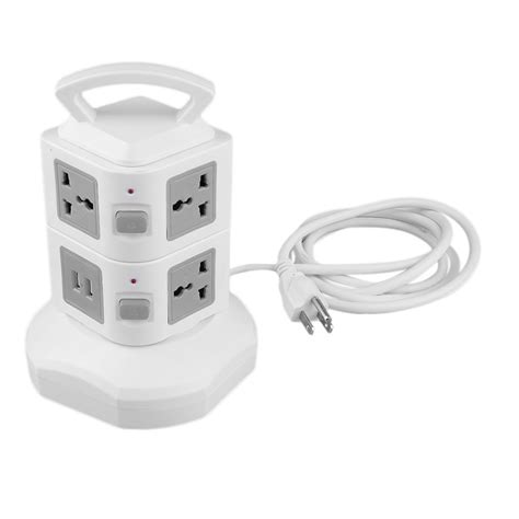 the gallery for gt surge protector 7 outlet 2 usb ports 2 layer socket us surge protector power board 2500w gt ebay