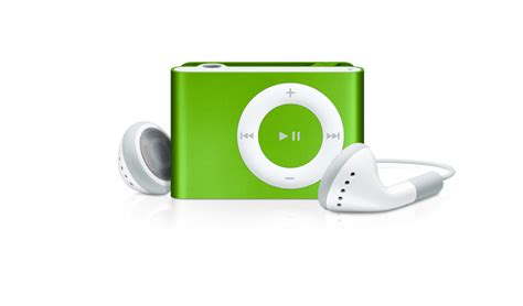 Apples Ipod Shuffle Now Out In A Selection Of Colours by Apple Ipod Shuffle 1 Gb Bright Green 2nd