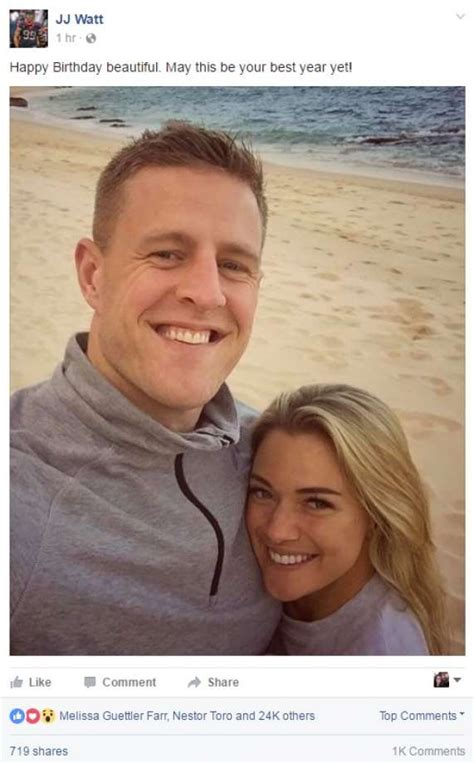 jj watt house j j watt girlfriend kealia ohai make relationship facebook official with beach photo
