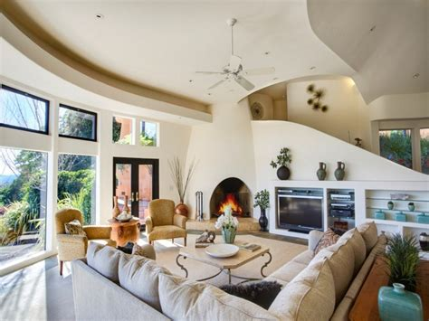 Pueblo Room by Stunning Pueblo Style Home In Santa Rosa On The Market For