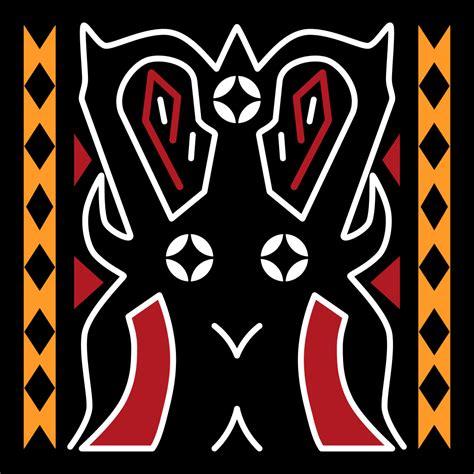 Pa Tedong file torajan pattern pa tedong svg