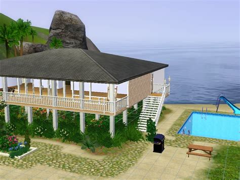 raised beach house plans hssbcf s raised beach house