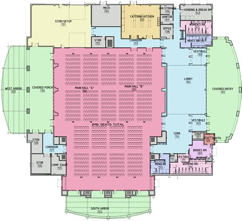 Banquet Hall Floor Plans by Floor Plans Information Bastrop Convention Amp Exhibit