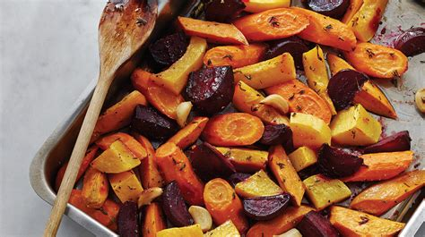 roasted root vegetable recipes with honey honey roasted root vegetables sobeys inc