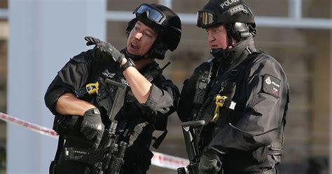 terror cops raid home  elderly mbe couple