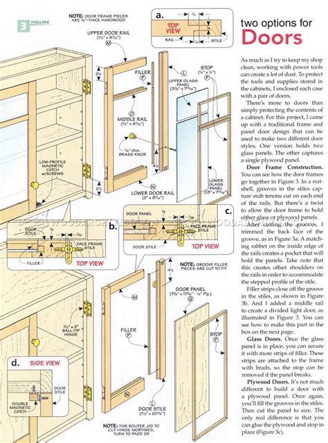 wall workshop plans woodarchivist