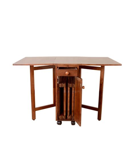 Dining Table Compact Hometown Compact 4 Seater Folding Dining Buy Hometown Compact 4 Coma Frique Studio 45d8bfd1776b