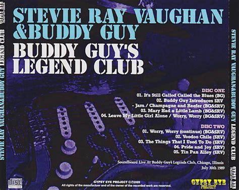 stevie ray vaughan buddy guy legend club cdr giginjapan