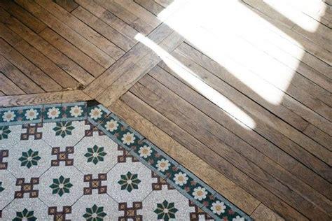 Melange Carreaux De Ciment Et Parquet by M 233 Lange Carreaux De Ciment Et Parquet Tile