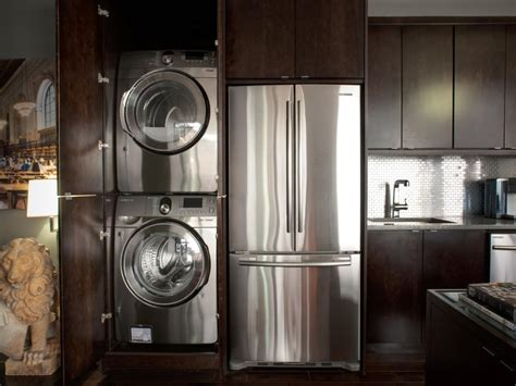 washer dryer in kitchen our favorite laundry rooms from hgtv home giveaways easy