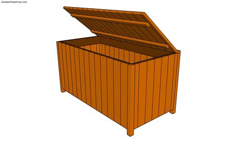 Patio Storage Box Plans by Deck Box Plans Free Garden Plans How To Build Garden