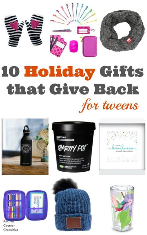 gifts for tweens gifts that give back for tweens