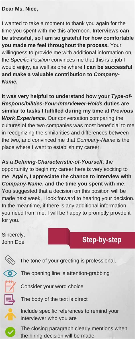 How Does Kpmg Inform You Of Your Offer Mba Internship by Infographic This Exle Of The Thank You Letter