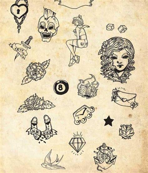 small old school tattoos amazing design of simple school design
