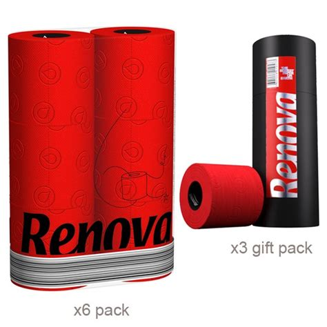 renova toilet renova toilet tissue red toilet paper buy online from