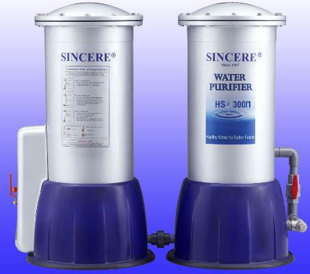 Harga Sincere Water Purifier Hs 300 by Water Filter