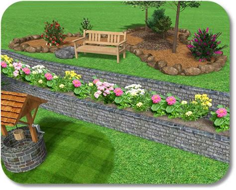 Landscape Design Software Slopes Retaining Walls On Steep Slopes Design Software