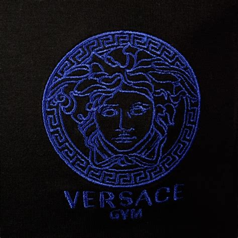 logo versace black versace versace black logo t shirt versace from brother2brother uk