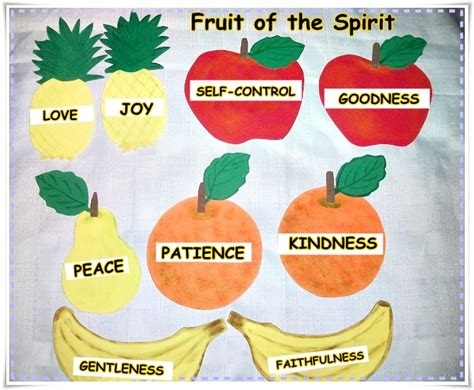 5 fruits of the spirit teaching about the works of the flesh for