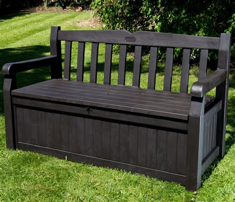 black wooden bench outdoor black storage benches elegant furniture design
