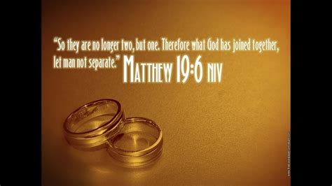 Bible verses about Marriage or Wedding   YouTube
