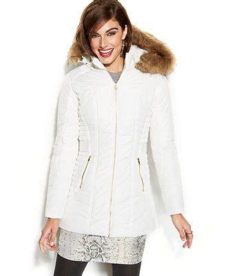 celebrity pink winter jacket celebrity pink faux fur trim hooded puffer jacket winter