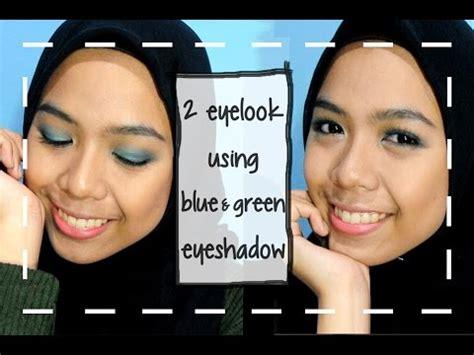 Eyeshadow Viva Warna Hijau eyeshadow for beginner cara memakai eyeshadow biru hijau produk makeup lokal indonesia