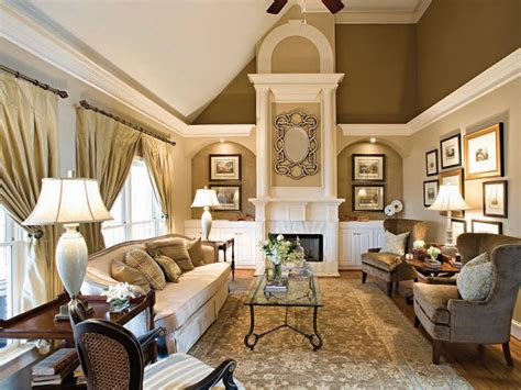 gold living room paint colors winter color trends living alaska hgtv