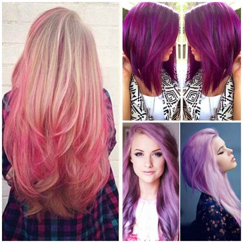 color hair styles perfectly shocking colors of funky hairstyle
