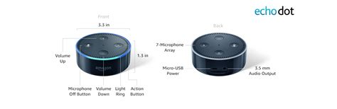 Echo Dot 2nd Generation Alexa Enabled Bluetooth Speaker Black | echo dot 2nd generation alexa enabled bluetooth