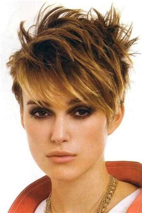 spikey hair with longbangs 20 spiky pixie hairstyles pixie cut 2015