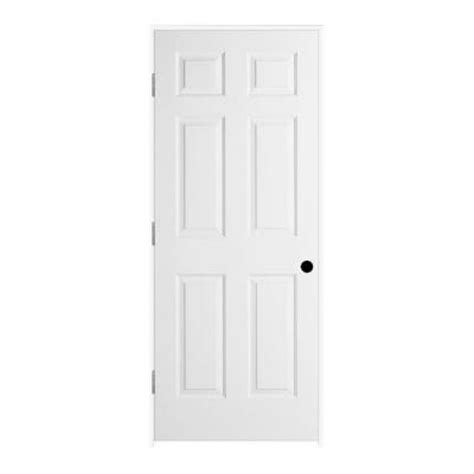6 panel interior doors home depot jeld wen woodgrain 6 panel solid primed molded single