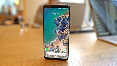 how to make the samsung galaxy s9 look like stock android