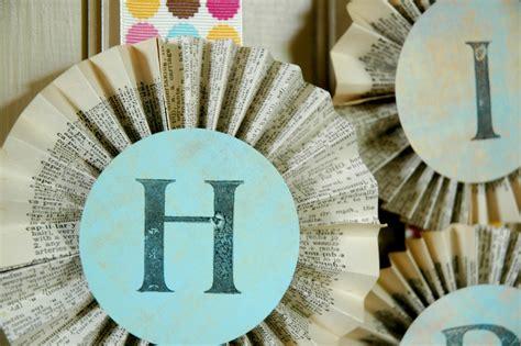 Handmade Happy Birthday Banner - a handmade happy birthday pioneer