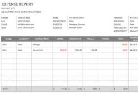 microsoft word expense report template business expense report office templates