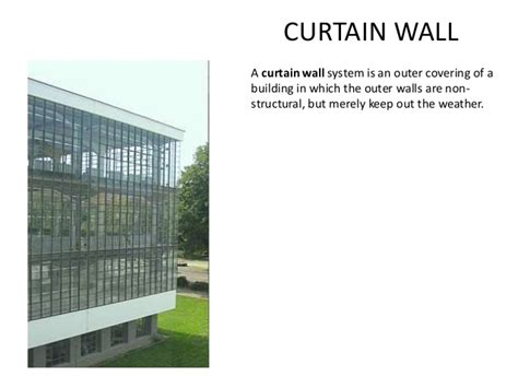 curtain wall terminology architectural terms 2