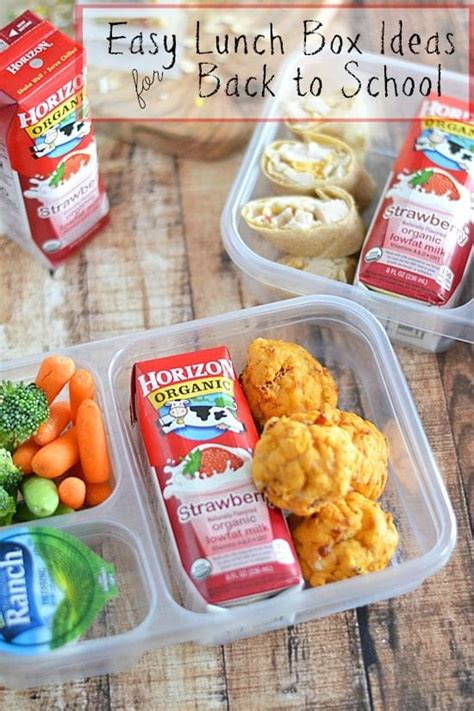 easy lunch box ideas back to school kitchen meets girl
