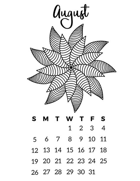 make your own calendar free 2018 free printable 2018 calendar mandala coloring pages
